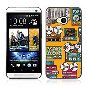 YOYOSHOP [Cool Retro Devices Art] HTC One M7 Case by ruishername