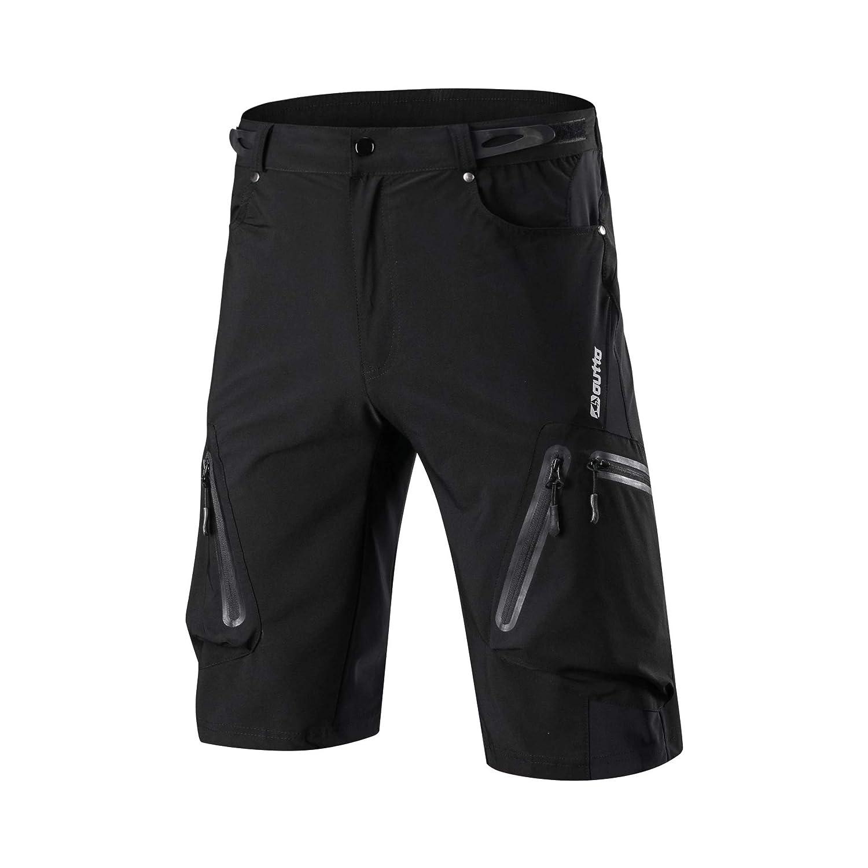 Non Imbottiti Ynport Crefreak Pantaloncini Traspiranti da Mountain Bike da Uomo