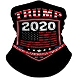 American Flag Seamless Bandana Face Neck Gaiter Multi-Functional Balaclava Headband Scarf for Dust Outdoor Cycling…