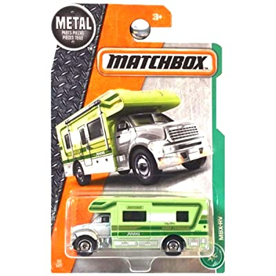 Matchbox 2020 MBX Explorers MBX-RV 82/125, Silver and Light Green: Toys & Games