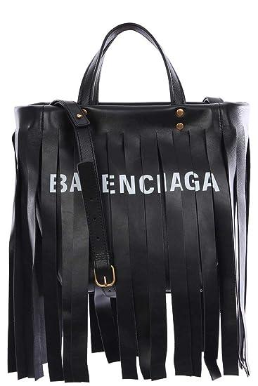 Balenciaga Women's 5178420K12g1060o Black Leather Handbag