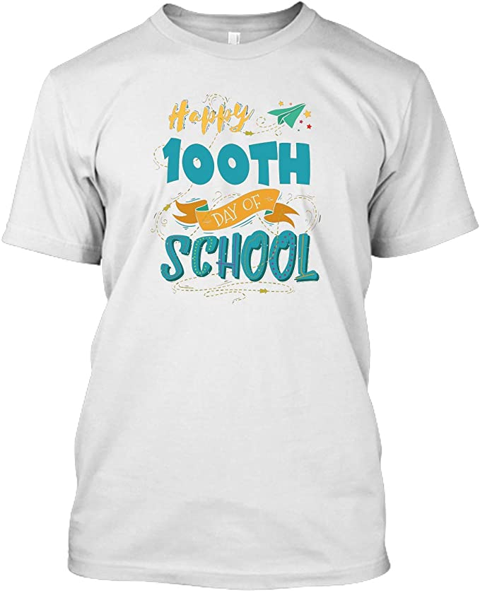 Zenladen 100th Day of School Happy Funny Child Teacher Student LS Ultra Cotton Tshirt