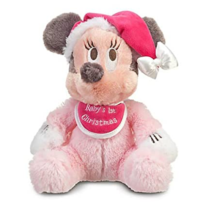 Super Amazon Com Disney Babys First Christmas Minnie Mouse Bean Customarchery Wood Chair Design Ideas Customarcherynet