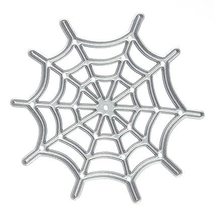 amazon com moca halloween spider web metal cutting dies stencil