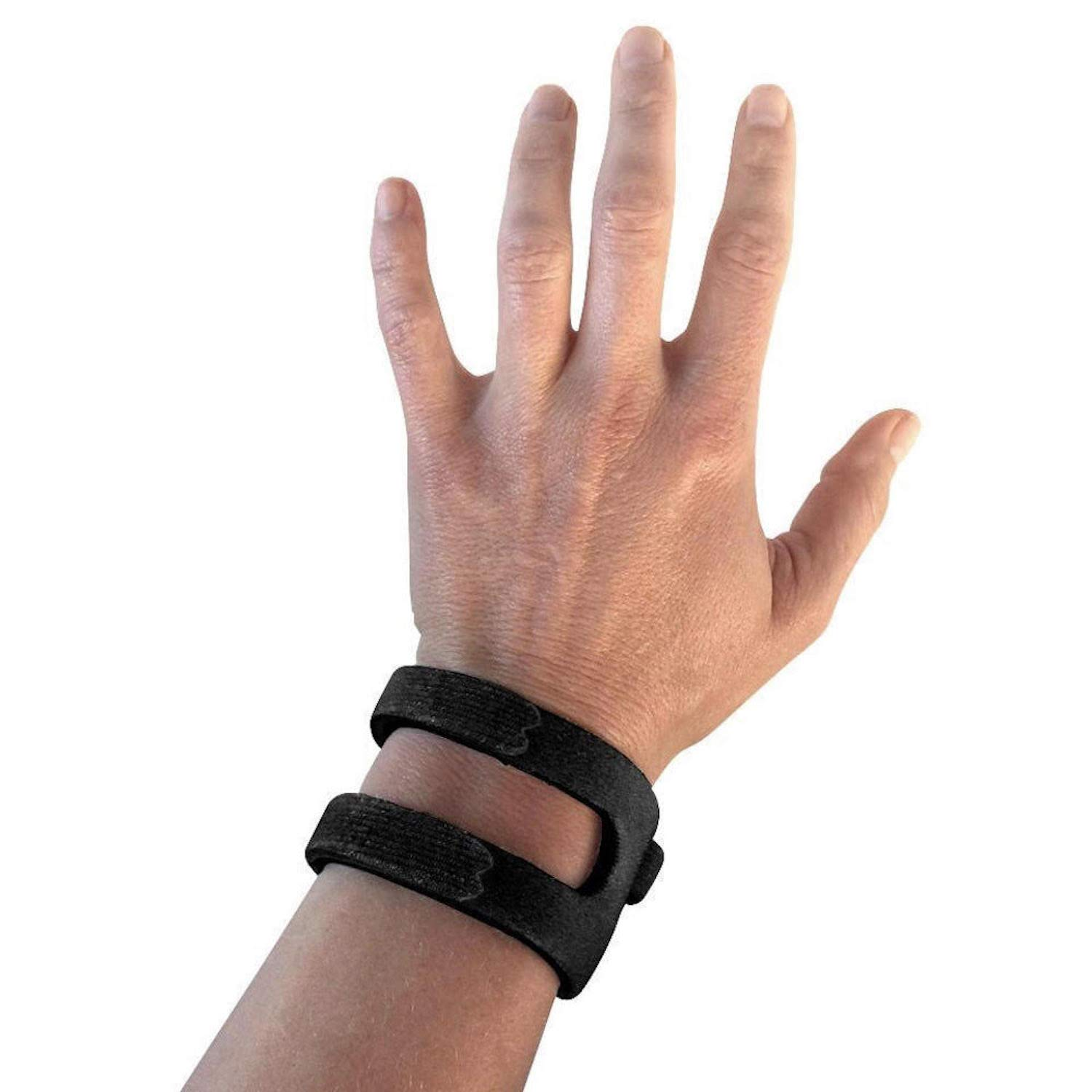 WristWidget (TM) - Patented, Adjustable Support, Wrist Brace For TFCC Tear- Triangular Fibrocartilage Injuries, Ulnar Sided Wrist Pain, Weight Bearing Strain - Left Or Right Hand - Regular BLACK by WristWidget