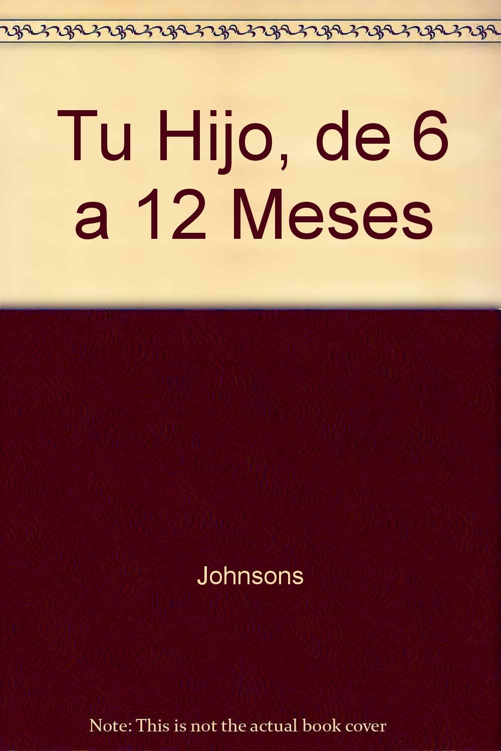 Tu Hijo De 6 A 12 Meses (Spanish Edition) ebook