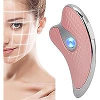Micro-stroom schraapbord, elektrische vibratie verwarming schrapen, gezichtsmassage, afslankend gezicht, elektrisch…