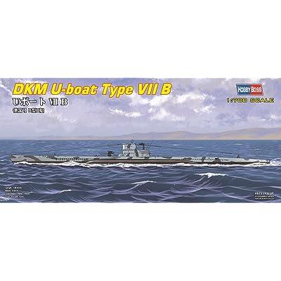 Hobby Boss DKM U-Boat Type VIIB Boat Model Building Kit: Toys & Games