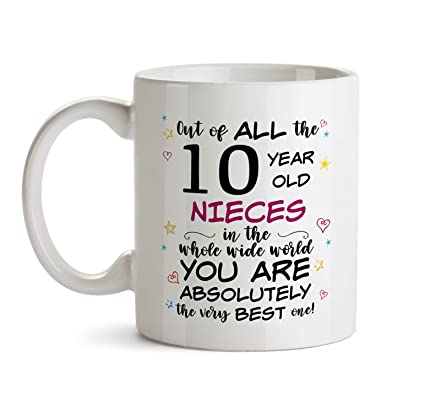 10th Niece Birthday Gift Mug