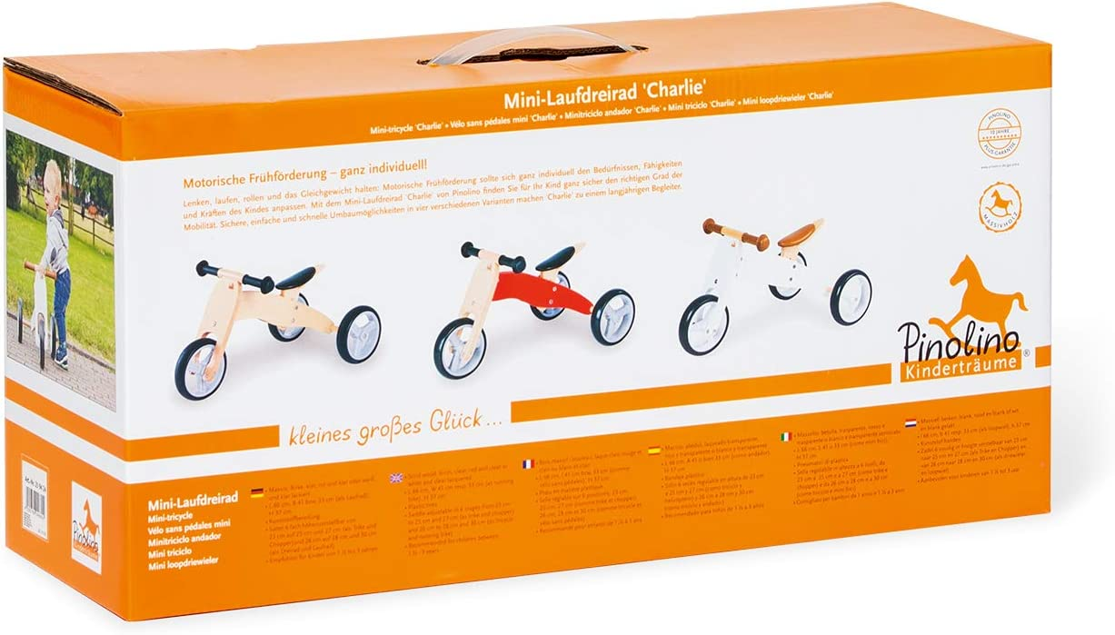 Amazon.com: Pinolino Charlie Mini Tricycle Balance Bike ...