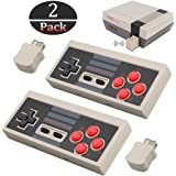 2pcs Wireless Game Controller for NES Classic Edition, NiceCo 2.4G No-wired Gamepad