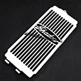 Motorparty Radiator Grill Cover Water Tank Grille Guard Protector For Honda Shadow VT750 ACE 1997-2003 VT 750 Spirit 2001-2008 2007 2006 2005 2004 2003 2002 1999 1998,Stainless Steel,Shadow Pattern