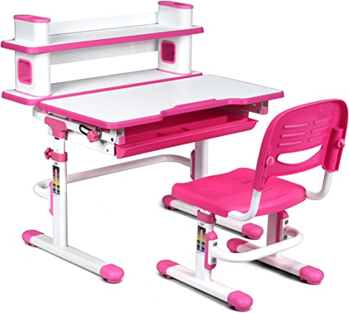 HONEY JOY Kids Desk and Chair Set
