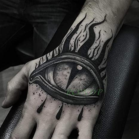 Etiqueta engomada del tatuaje temporal a prueba de agua letra ...