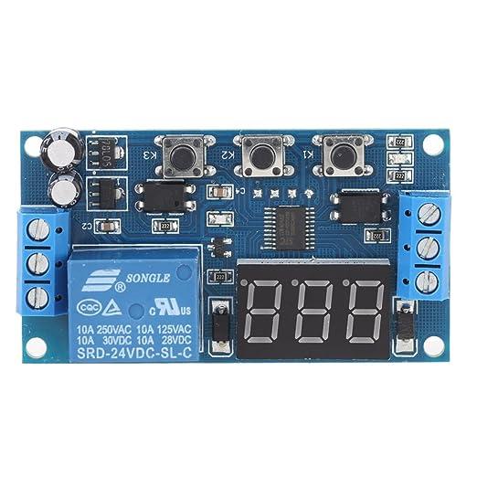 12 opinioni per KKmoon 24V Modulo Relè Delay Timer Digitale Control Switch Relay Module, LED