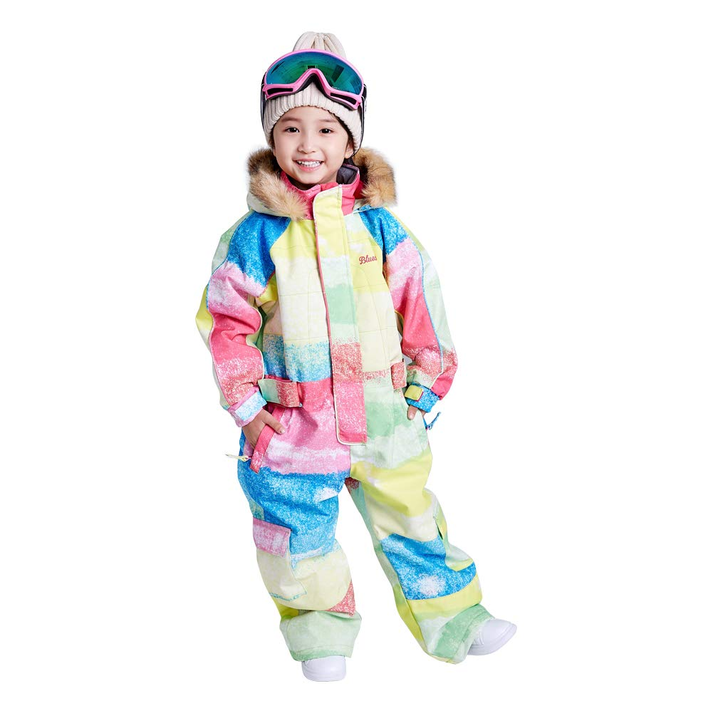 Little Kid's One Piece Overall Snowsuits Ski Suits