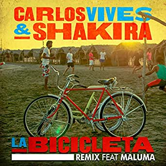 La Bicicleta (Remix) de Carlos Vives & Shakira feat. Maluma en ...