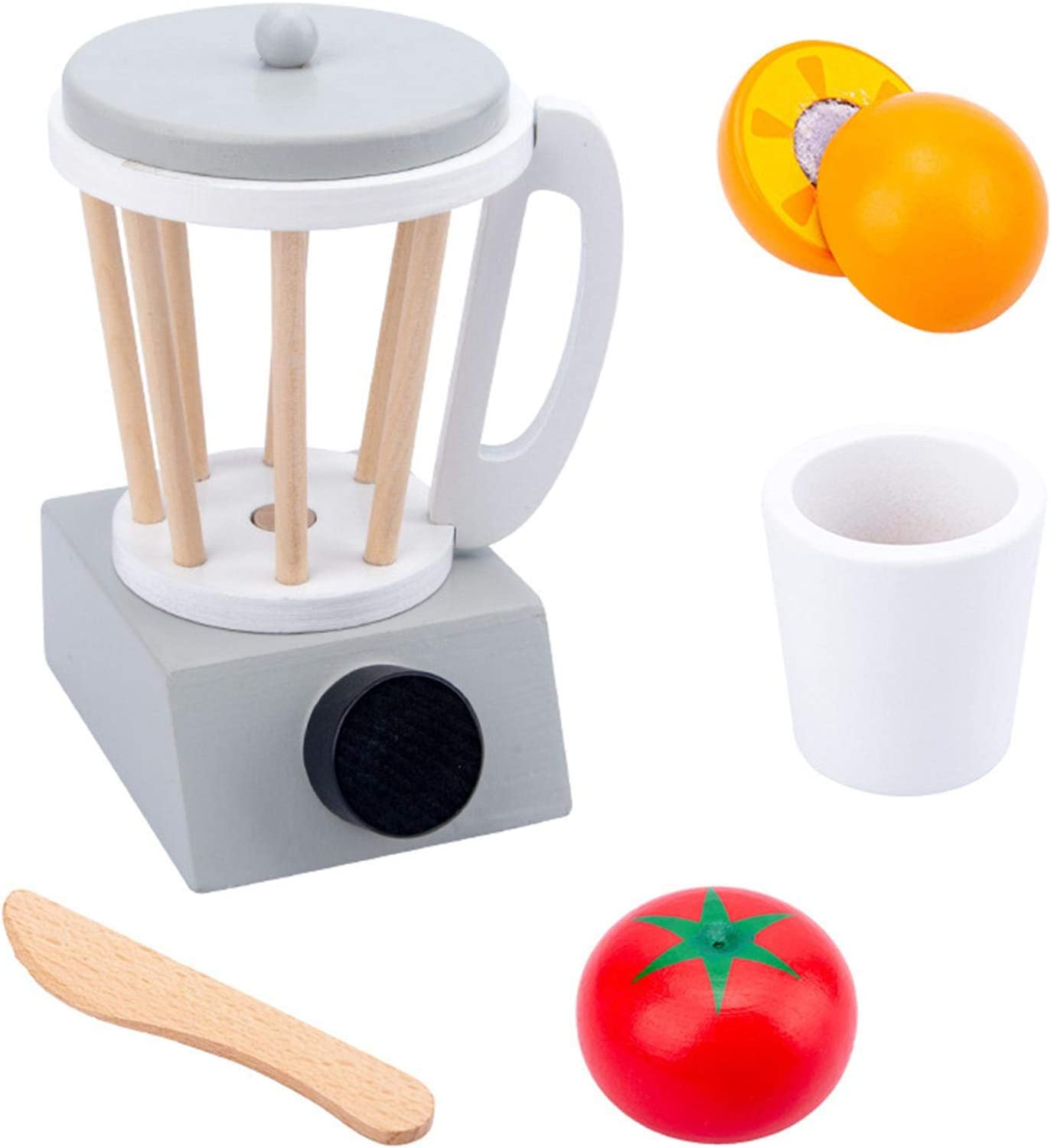 YYDS Pop-Up Toaster Play Set Children's Playhouse, Coffee Pretend Play Children Toy, Wooden Pretend Play Kitchen Set with Accessories