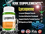 1 Bottle Lycopene 50mg 90 Capsules KRK Supplements