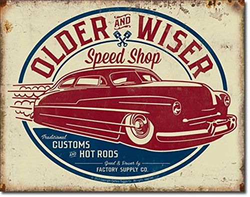 Older Chevy - OLDER AND WISER SPEED SHOP V8 MUSCLE FORD CHEVY CRUIZERS 12.5