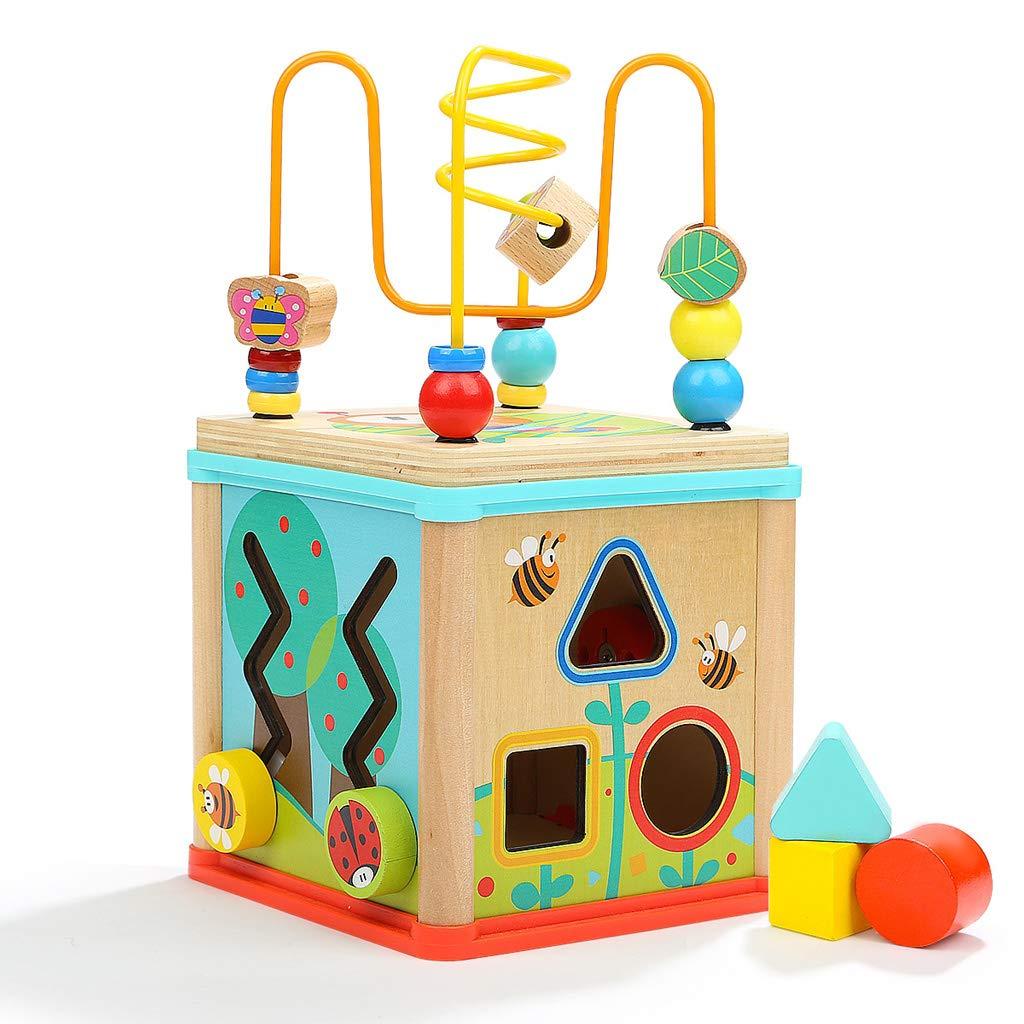 artículos novedosos Juguetes educativos para bebés de 1 a 2 años de de de edad, niños, caja de tesoros, dibujos animados, patrón animal, reconocimiento de formas, iluminación, juguete de entrenamiento de coordinación mano-ojo  gran descuento