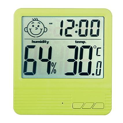 hanshi Weck Reloj digital con Multi de funciones.electrónica reloj de mesa.Cama lado