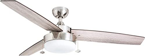 Prominence Home 51019 Statham Modern Farmhouse Ceiling Fan