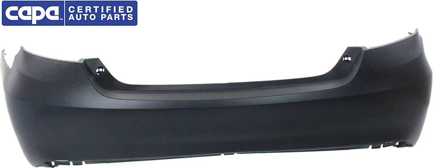 Rear Bumper Cover Compatible with 2015-2017 Toyota Camry Primed