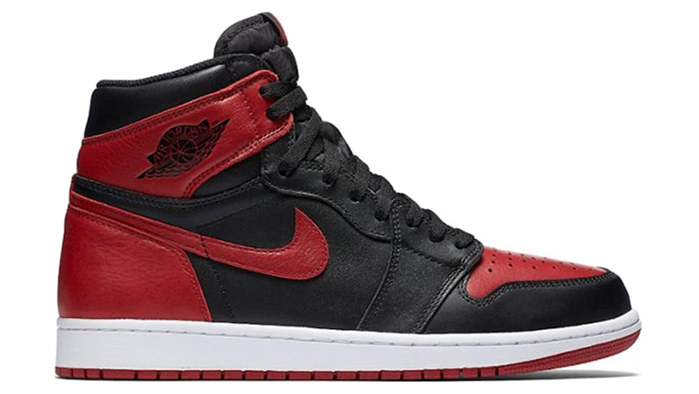 lowest price 45172 aea70 Foot Locker House of Hoops Nike Air Jordan 1 Retro High OG Bred Banned  (2016 Release) 555088-001 Authentic Men s Shoe Size (13)  Amazon.ca  Shoes    Handbags