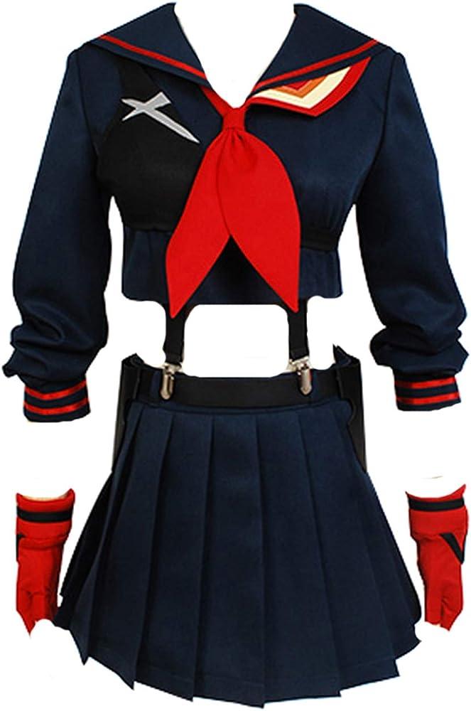 tianxinxishop Disfraz de Anime Cosplay de Halloween Uniforme ...