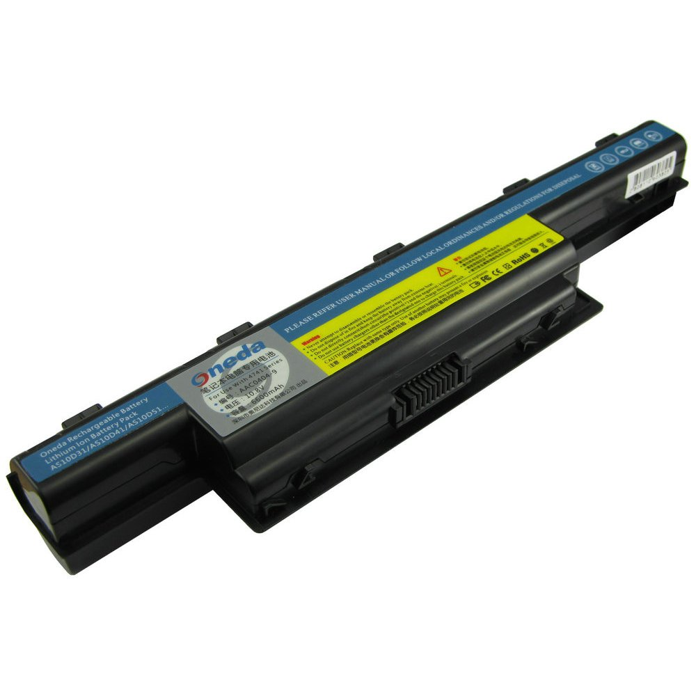 Oneda New Laptop Battery for Acer Aspire 4253 4551 4552 4738 4741 4750 4771  5251 5253 5336 5349 5551 5552 5560 5733 5733Z 5741 5742 5750 5750G 5755  7551 ...