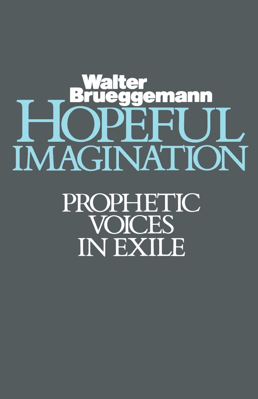 Hopeful Imagination: Prophetic Voices in Exile: Amazon.co.uk: Walter  Brueggemann: 9780800619251: Books