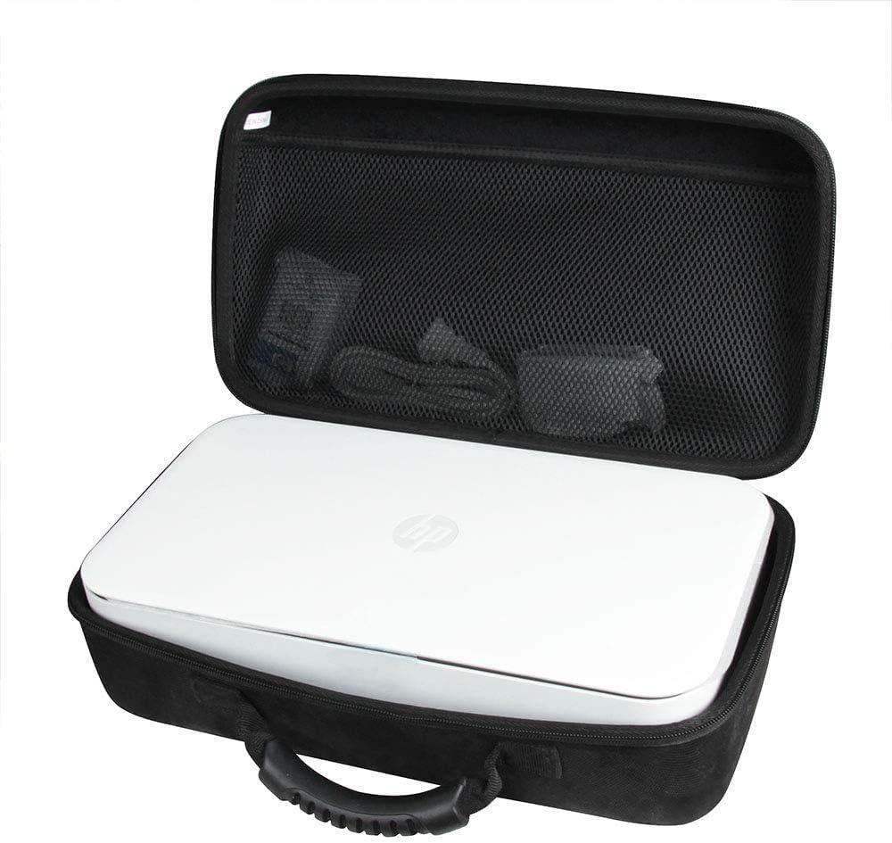 Anleo Hard Travel Case for HP Tango/Tango Terra/Tango X Smart Home Printer 2RY54A / 3DP64A (Black)