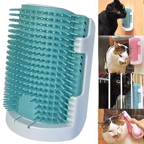 Amazon.com: iSeaFly - Cepillo para gatos con cerdas de goma ...