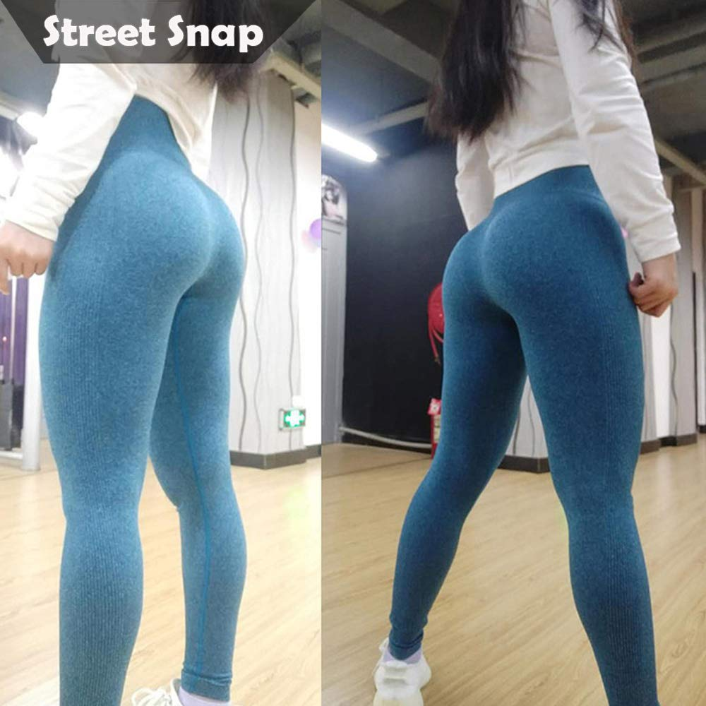 LIVEEX Women High Waist Fitness Sport Leggings Seamless Yoga Pants Slim Running Tights Sportswear Butt Lift Fitness Trousers