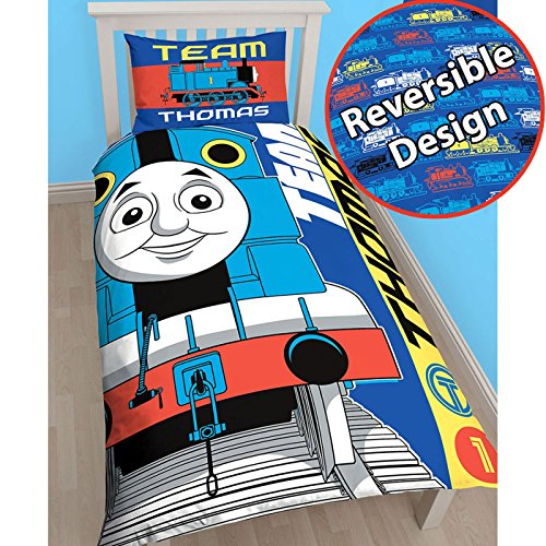 Thomas the Tank Engine Team Single/US Twin Duvet Cover Set