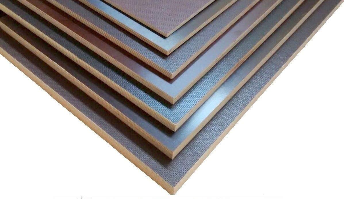 Siebdruckplatten 12mm 35,90/€m/² Siebdruckplatte Siebdruck Sperrholz Birke Anh/änger NEU 125 x 30 cm