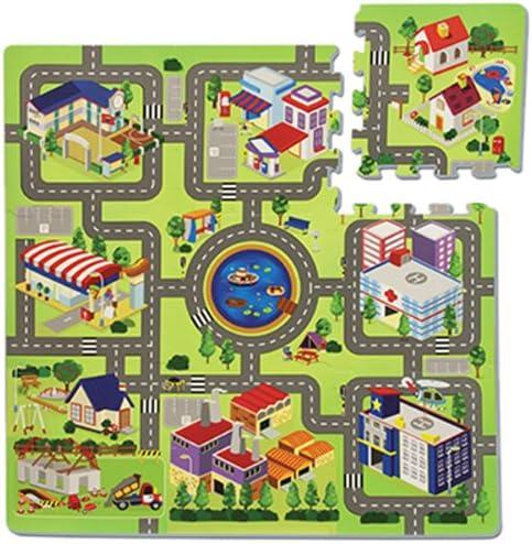 Tappeto città Puzzle