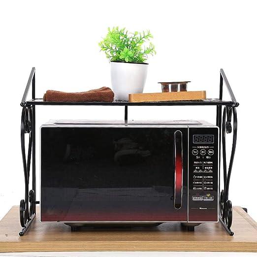 2 estantes para horno microondas, plegable, estante de ...