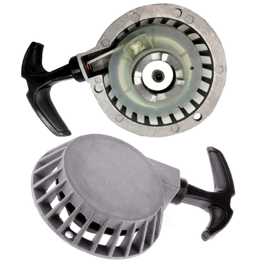 qhtongliuhewu Alloy Pull Start 2-stroke Easy Starter For 2-stroke 47cc And 49cc Engines Mini Moto Bike