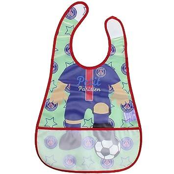 Bavoir pour Bébé Paris Saint Germain PSG Officiel - P11726  Amazon ... 08d844588d4