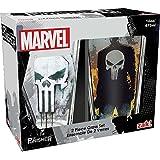 Zak Designs MKPB-B082 Marvel Comics Pint Glasses, 16oz 2 Piece, Punisher