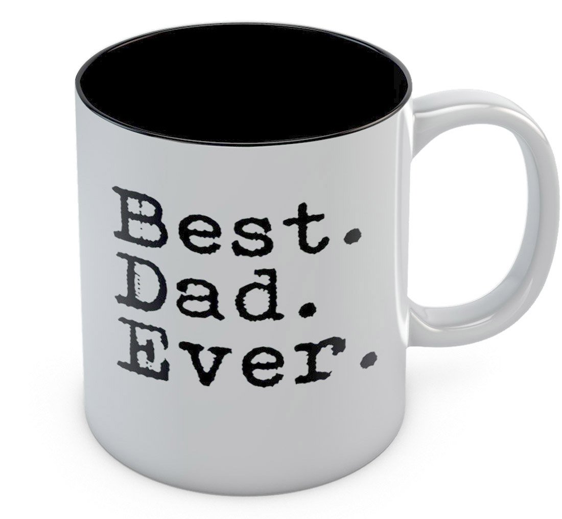 TeeStars - Best Dad Ever Father Day Appreciation Gift Idea Cool Design Mug 11 Oz. White Gl3MhgWWwPPWw9ll6F