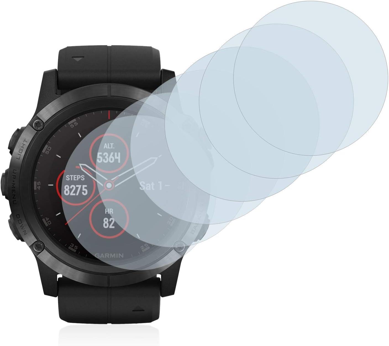 Savvies Pellicola Protettiva Compatibile con Suunto Ambit3 Run Black Protezione Schermo 6 Pezzi