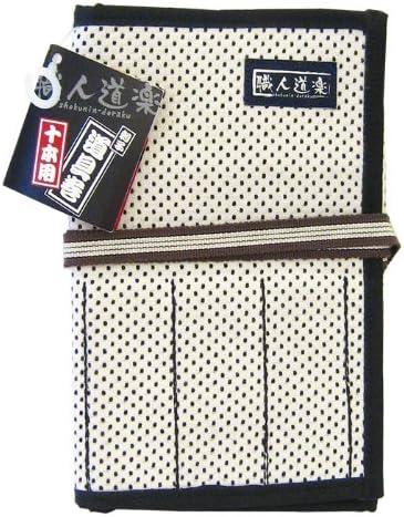 職人道楽 道具巻 10本用小 刺子 白