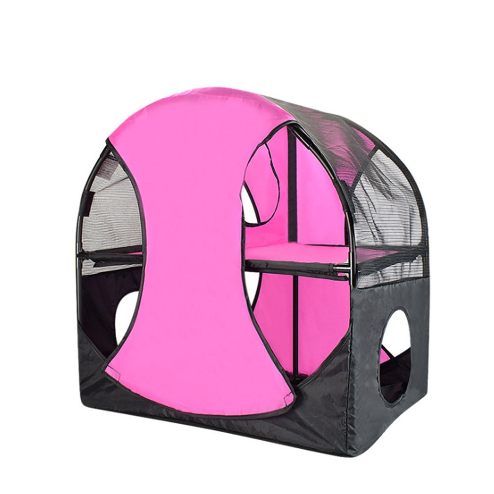 Bartonisen Cat Tunnel Curious Kitty Play House Condo Ferris Wheel of Fun Cat Interactive Tower Toys