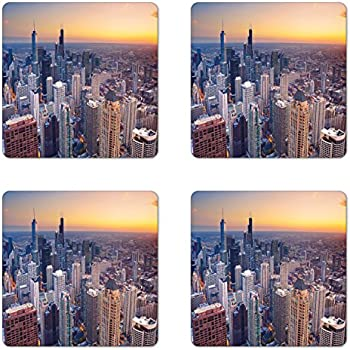 Amazon.com: Danita Delimont – Chicago – Chicago Skyline at ...