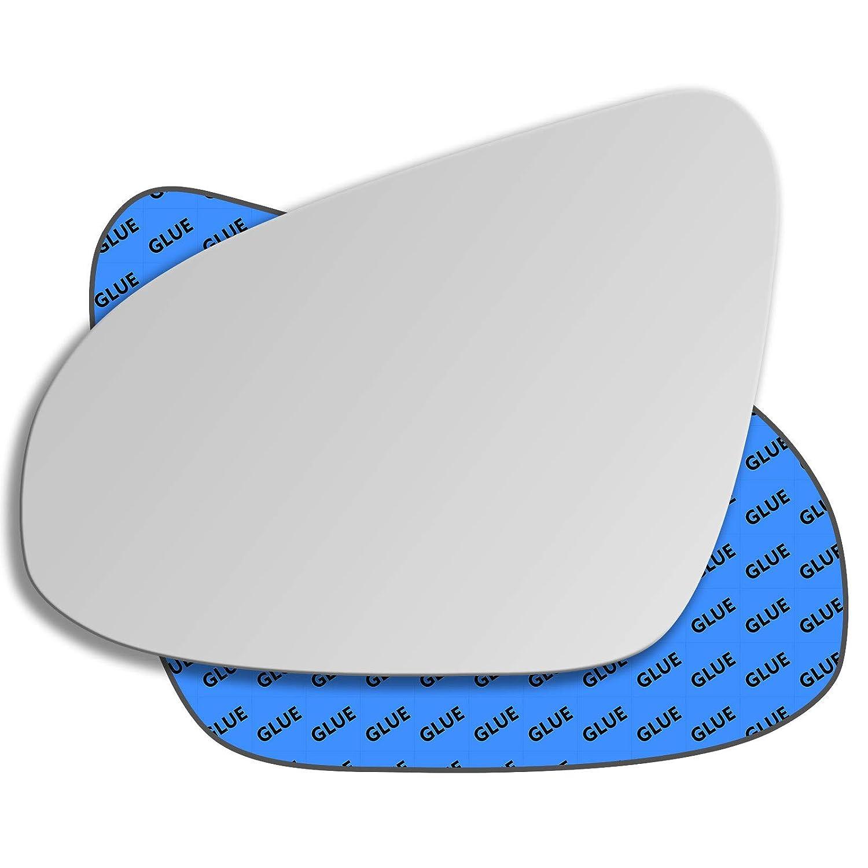Hightecpl 27LS Left Passenger Side Convex Door Wing Mirror Glass