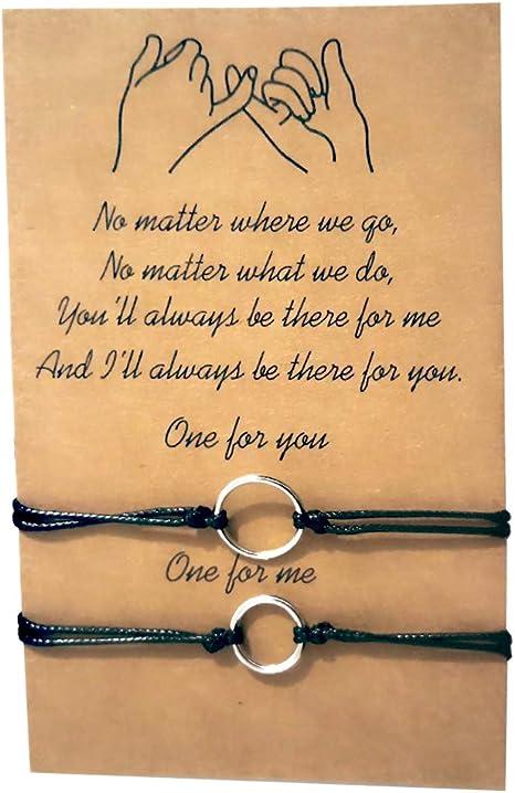Promise bracelet for couples bracelets Spring wedding bridesmaids Bridal shower friendship best friend bracelet for boyfriend girlfriend