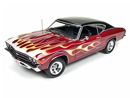 1969 Chevy Chevelle SS 396 Rich Metallic Red